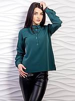 Однотонная блузка p.42-48 VM2059-1