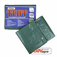Тент полипропиленовый 150грм.на м.кв. зеленый (3х4м)