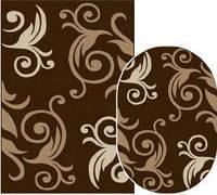 Ковёр Daffi вензеля - коричневый 2.00х3.00 м.