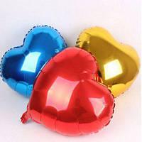 Воздушный Фольгированный шар ,,Сердце Красное ,,44см