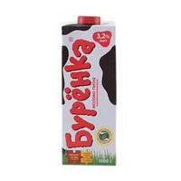 Молоко суперпастеризованное Бурёнка 3,2% 1000г