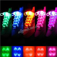 шнурки светодиодные (светящиеся в темноте)