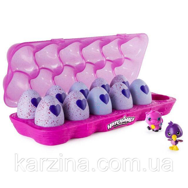 Hatchimals Лоток с 12 фигурками в яйцах Spin Master