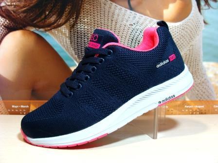 Кроссовки женские Adidas Neo (реплика) синие 37 р.