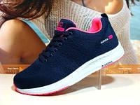 Кроссовки женские Adidas Neo (реплика) синие 37 р., фото 1
