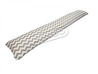 Подушка для беременных прямая - Зигзаг (с наволочкой) PDV-P2