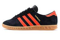 Мужские кроссовки Adidas Hamburg Black/Red