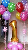 Композиции из шаров на год, фото 1