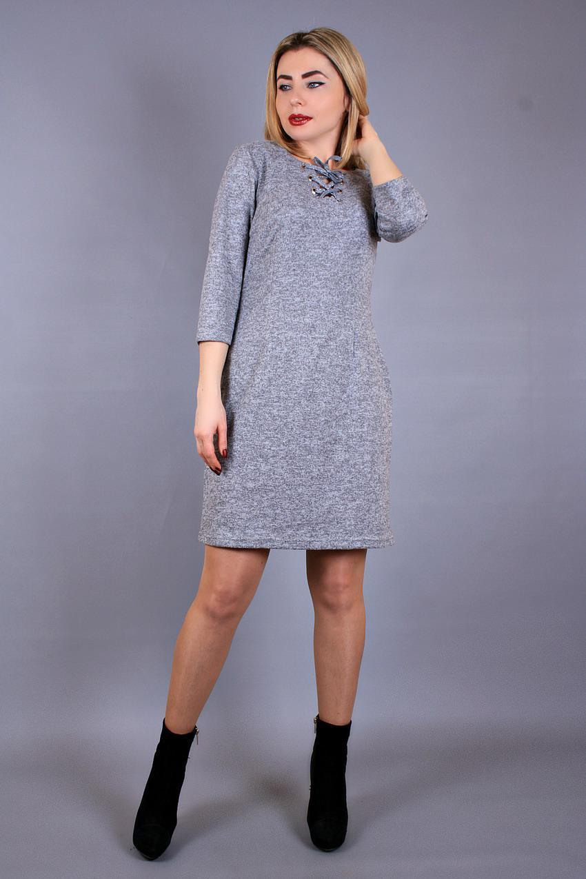 7ac51d01c73b Платье трикотажное 343, платье шнуровка, платье силуэтное, трикотажное  платье, фото 1