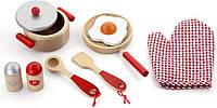 Игровой набор Viga Toys Маленький Повар цвет красный (50721), фото 1