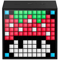 Колонка беспроводная Divoom TimeBox mini Black (TimeBox mini Black)
