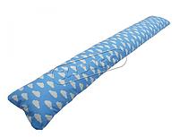 Подушка для беременных прямая - Облака (с наволочкой) PDV-U4