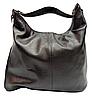 Удобная объёмная женская сумка из натуральной кожи темно-коричневого цвета SJW-022800