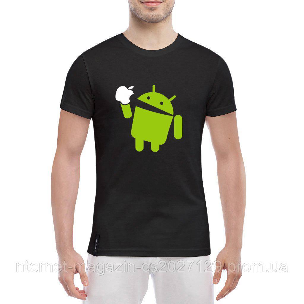 Мужская футболка Android