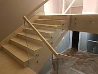Маршевая лестница из мрамора