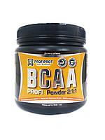 Аминокиcлоты BCAA 2:1:1 вкус, 500г PROFIPROT Лайм