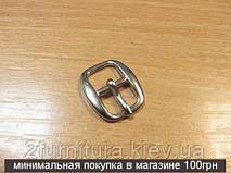 Пряжки для сумок (10мм) никель, 10шт 4773