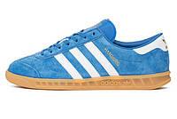 Мужские кроссовки Adidas Hamburg Blue/White