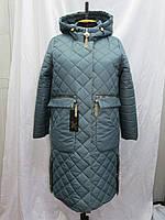 Пальто женское демисезонное из плащёвки