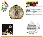 Светильник 3D QUANTUM/CHROM - 1, фото 2