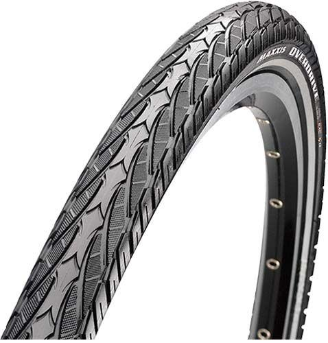 Покришка Maxxis 700x35c (TB90108400) Overdrive, MaxxProtect 27TPI, 70a, чорна