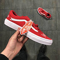 Кеди Vans Era  Supreme replica AAA