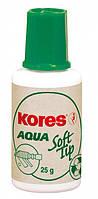 Корректор-жидкость AQUA SOFT TIP, водная основа