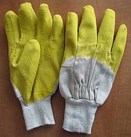 """Перчатки  """"СТЕКОЛЬЩИК желтый"""" размер-10,5. PRC /0-11"""