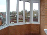 Металлопластиковые  окна (остекление балконов и лоджий)