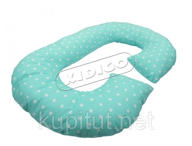 Подушка для беременных KIDIGO Рогалик - Звезды (с наволочкой) PDV-R5