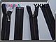 YKK металл ст.никель №3 1бег 50cm,60cm,70cm, фото 2