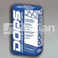 Плиточный клей для керамической плитки DOPS CERAMIC, 25кг, фото 1