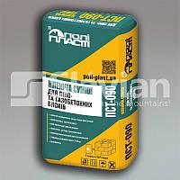 Клеевая смесь для пено- и газобетонных блоков ПСТ-090 (Лето), 25 кг, фото 1