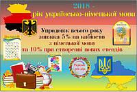 2018й год объявлен в Украине годом немецкого языка.