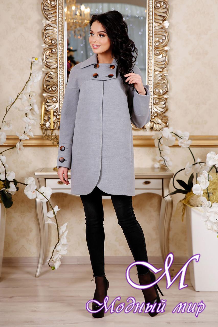 0e47d39d3a5 Женское пальто серого цвета весна-осень — купить в интернет магазине ...