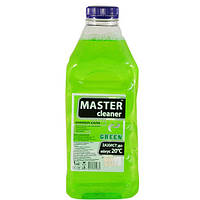 Омыватель стекол -20С зеленый Master cleaner 1л