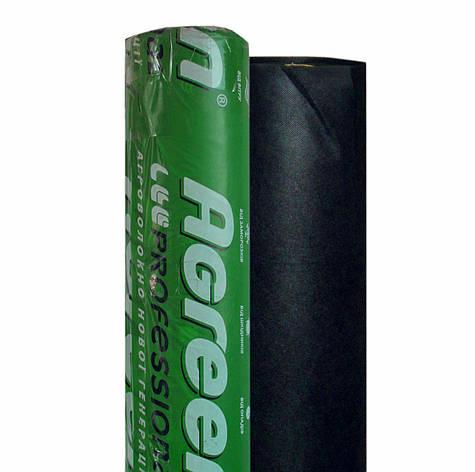 Агроволокно Agreen 50 - (1.07м х 100мп). Агроволокно черное в рулоне., фото 2