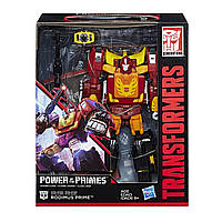 Трансформер 4в1 Родимус Прайм + Хот Род 23см - Rodimus + Hot Rod, Power of the Primes, Leader Class, Hasbro
