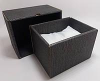 Подарочная коробка для часов картонная черная