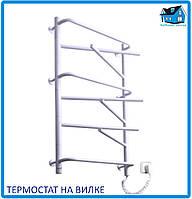 """Электрический полотенцесушитель ЭЛНА """"Элна-9"""" белый термостат"""
