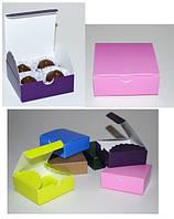 Коробка для конфет 8*8 h3 cm в ассорт. Украина - 06267