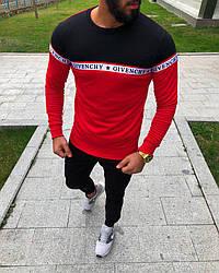 Мужской джемпер Givenchy красно - черный топ реплика
