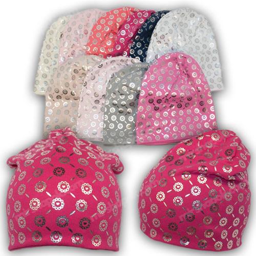 шапки трикотажные детские