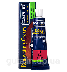 Жидкая кожа Saphir Creme Renovatrice 25 мл цвет красный (11)