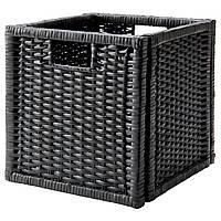 IKEA BRANAS Корзина, темно-серый  (002.824.05)