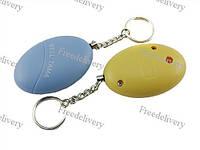 Брелок сирена защитная, карманная сигнализация персональная 120дБ