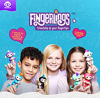 Обезьянки Fingerlings от WowWee