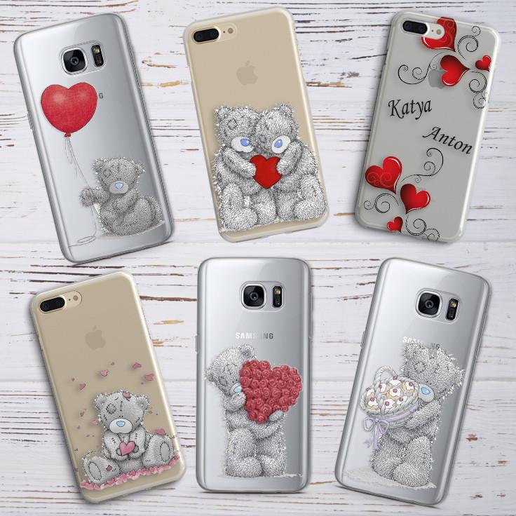 Чехол для Samsung Galaxy J7 2016 (J710h) силикон День Святого Валентина