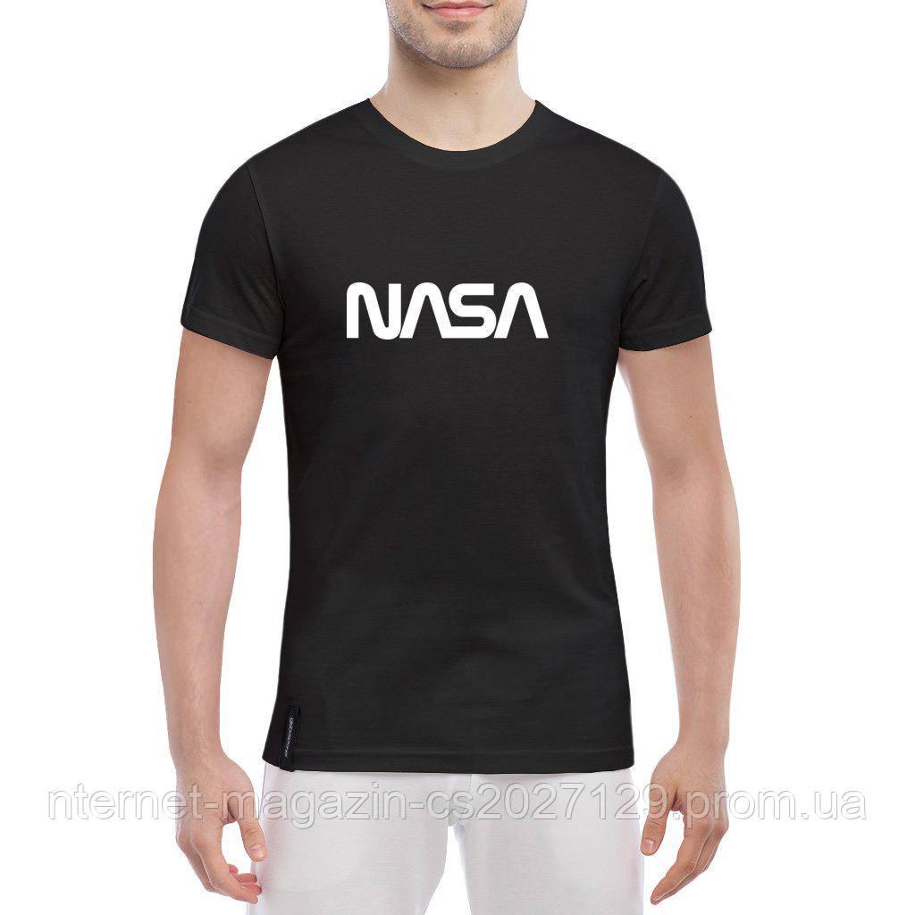 Футболка принт NASA