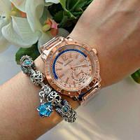 Женские часы Pandora Blue Arc бронзовые, фото 1